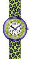Flik Flak Green Jubatus Watch FPNP009