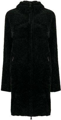 Giorgio Brato Shearling Zip-Up Coat