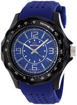 Seapro Dynamite Mens Blue Dial Blue Silicone Strap Watch