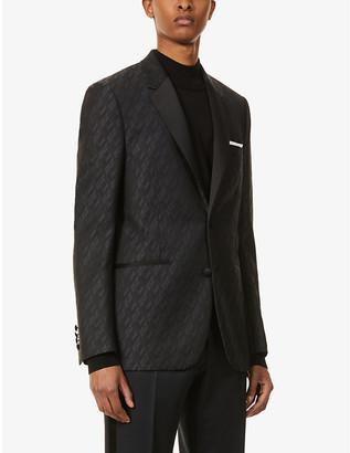 Paul Smith Jacquard slim-fit wool blazer