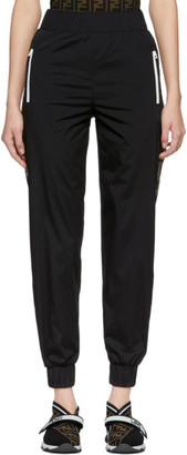 Fendi Black Forever Ribbon Lounge Pants