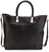 Cole Haan Benson Leather Crossbody Tote Bag, Black