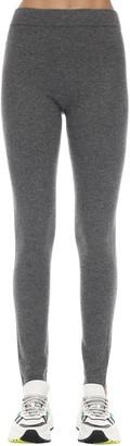 Agnona Cashmere Blend Knit Leggings