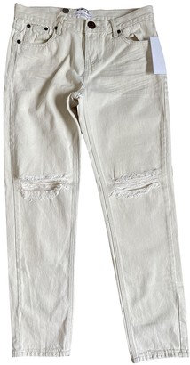 One Teaspoon White Denim - Jeans Jeans for Women
