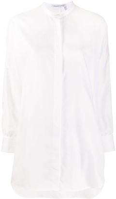 Agnona Mandarin Collar Shirt