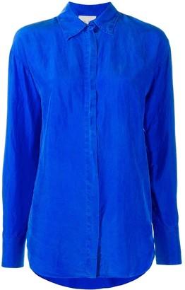 Forte Forte Concealed Fastening Silk Shirt