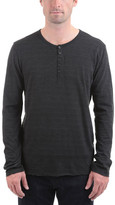 ATM Anthony Thomas Melillo Men's Cotton Jersey Space Dyed Henley
