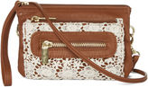 Arizona Triple Zip Crochet Crossbody Bag