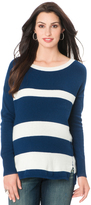 A Pea in the Pod Drop Shoulder Maternity Sweater