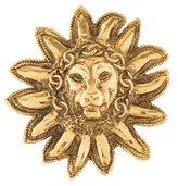 Chanel Lion Sunburst Brooch