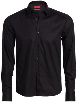 HUGO BOSS W-Ero3 Woven Button-Down Shirt