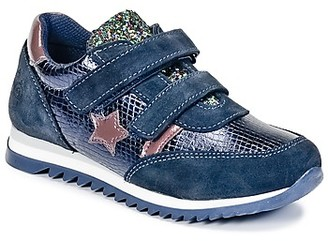 Citrouille et Compagnie HOPINETTE girls's Shoes (Trainers) in Blue