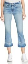 Rag & Bone Crop Flare Jeans in Vale