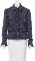 Chanel Tweed Frayed Jacket
