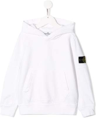 Stone Island Junior minimal hoodie