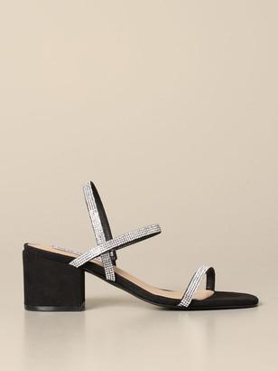Steve Madden Ista-r Sandal With Micro Rhinestones