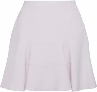 Antonio Berardi Fluted Faille Mini Skirt