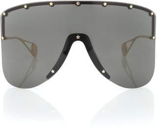 Gucci Mask metal sunglasses