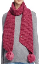 UGG Scarf with Pom-Poms - 100% Bloomingdale's Exclusive
