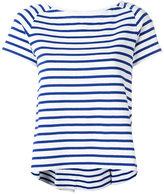Sacai striped boat neck top