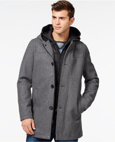 GUESS Toggle Jacket with Removable Bib and Hood