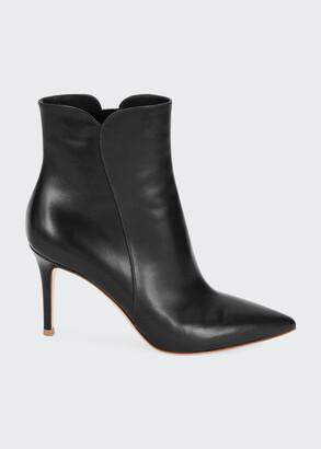 Gianvito Rossi 85mm Calf Leather Bootie