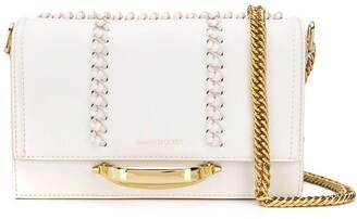 Alexander McQueen Braid-Detailed Shoulder Bag