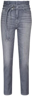 Paperbag slim jeans