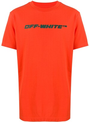 Off-White Workers print T-shirt