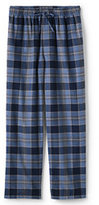 Classic Men's Big Fit Flannel Pajama Pants-Gala Red Plaid