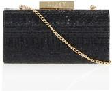 Lipsy Diamante Box Clutch Bag