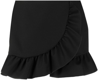 RED Valentino Ruffle-Trimmed Shorts