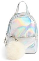 BP Mini Backpack Crossbody Bag - Metallic