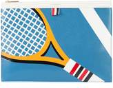 Thom Browne tennis document clutch