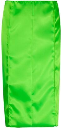 Kwaidan Editions Size-Zip Midi Skirt