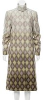 Chloé Printed Wool Coat w/ Tags