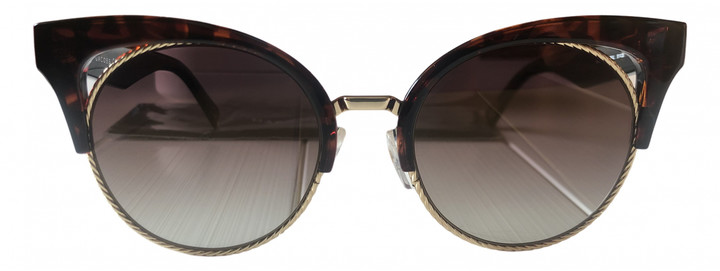 Thumbnail for your product : Marc Jacobs Brown Plastic Sunglasses