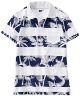 Crazy 8 Stripe Palm Polo