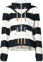 Derek Lam striped jacket - women - Cotton/Linen/Flax - 36