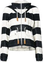Derek Lam striped jacket - women - Cotton/Linen/Flax - 36