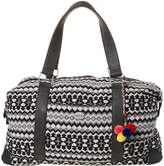 Swell Tapestry Duffle Bag Black