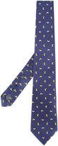 fe-fe banana print bow tie - unisex - Silk - One Size