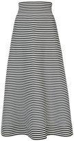 Sonia Rykiel A-line stripe skirt - women - Cotton/Polyester - S