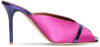 Malone Souliers 85mm Lucia Satin Mules