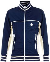 Palm Angels Black White Weed Track Jacket