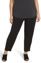 Eileen Fisher Plus Size Women's Drawstring Ankle Pants