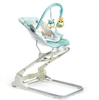 Tiny Love 3-in-1 Close to Me Bouncer, Grey/Turquoise
