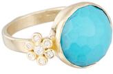 Gerber Lauren Sigman Jewelry and Diamond Flower Ring