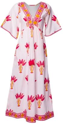 Pink City Prints - Organic Cotton Paros Beach Dress - XS/S