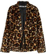 McQ Leopard-print Faux Fur Coat